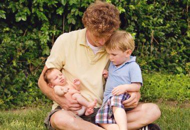 Tata na pełen etat - Wychowywanie dzieci